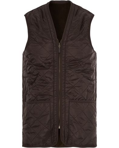 Barbour Lifestyle Quilt Waistcoat/Zip-In Liner Brown i gruppen Jackor / Yttervästar hos Care of Carl (11014011r)