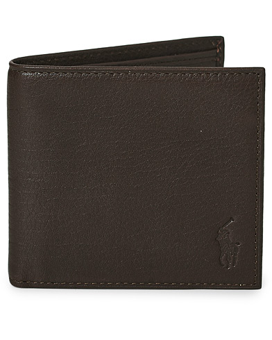 Polo Ralph Lauren Billfold Wallet Brown  i gruppen Accessoarer hos Care of Carl (11018310)