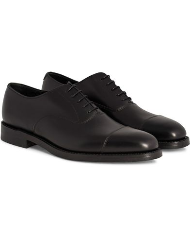 Loake 1880 Aldwych Dainite Oxford Black Calf i gruppen Sko / Oxfords hos Care of Carl (11018711r)
