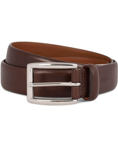 Polo Ralph Lauren Cowhide Belt 3 cm Brown i gruppen Assesoarer hos Care of Carl (11019611r)