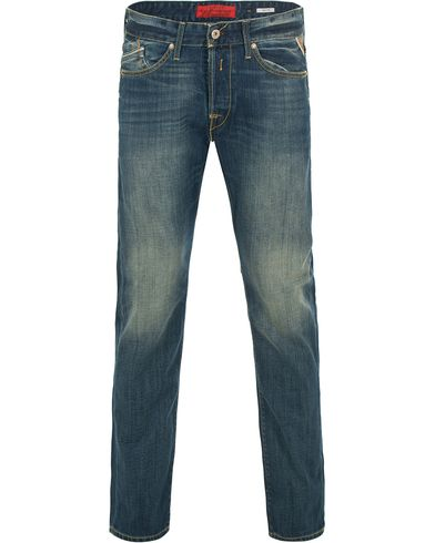 Replay M983 Waitom Jeans Blue i gruppen Kläder / Jeans / Raka jeans hos Care of Carl (11101411r)