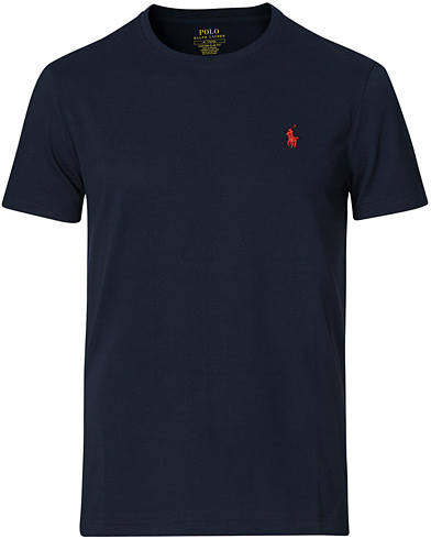 Polo Ralph Lauren Custom Fit Tee Ink i gruppen Klær / T-Shirts / Kortermede t-shirts hos Care of Carl (11108011r)