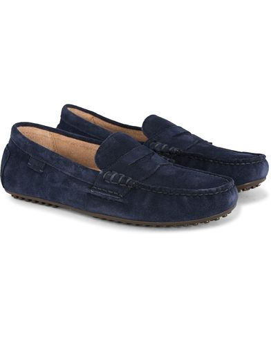 Polo Ralph Lauren Wes Car Shoe Newport Navy i gruppen Skor / Bilskor hos Care of Carl (11123711r)