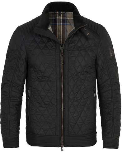 Belstaff Bramley Racer Jacket Black i gruppen Tøj / Jakker / Quiltede jakker hos Care of Carl (11128611r)