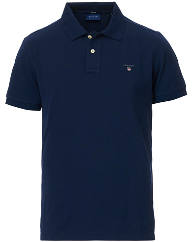 GANT The Original Polo Evening Blue i gruppen Klær / Pikéer / Kortermet piké hos Care of Carl (11138611r)