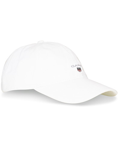 GANT Twill Cap White  i gruppen Assesoarer / Caps / Baseballcapser hos Care of Carl (11142310)
