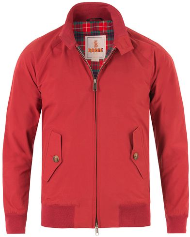 Baracuta G9 Original Harrington Jacket Dark Red i gruppen Jakker / Tynde jakker hos Care of Carl (11193611r)