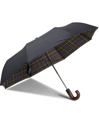 Barbour Lifestyle Telescopic Umbrella Barbour Lifestyle Classic Tartan i gruppen Assesoarer hos Care of Carl (11211210)