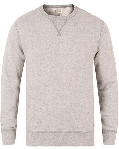Denim & Supply Ralph Lauren Crew Neck Knit Light Grey Heather i gruppen Trøjer / Sweatshirts hos Care of Carl (11222211r)