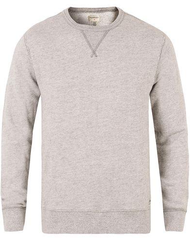 Denim & Supply Ralph Lauren Crew Neck Knit Light Grey Heather i gruppen Gensere / Sweatshirts hos Care of Carl (11222211r)