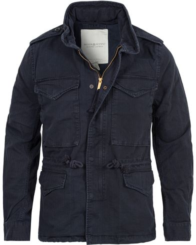 Denim & Supply Ralph Lauren Herringbone Field Jacket Classic Navy i gruppen Jakker / Fieldjakke hos Care of Carl (11224111r)