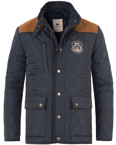 Lexington David Jacket Deepest Blue i gruppen Jakker / Quiltede jakker hos Care of Carl (11237111r)