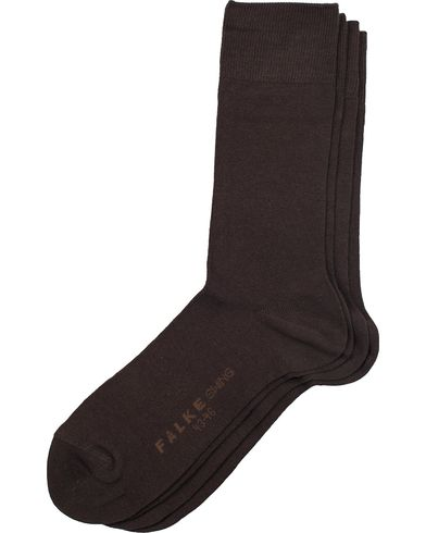 Falke Swing 2-Pack Socks Brown i gruppen Undertøj / Strømper / Almindelige sokker hos Care of Carl (11264611r)