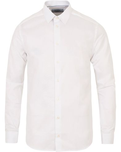 Eton Super Slim Fit Shirt White i gruppen Skjorter / Formelle skjorter hos Care of Carl (11270711r)