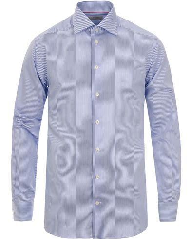 Eton Contemporary Fit Shirt Stripe Blue i gruppen Skjorter / Formelle skjorter hos Care of Carl (11271811r)