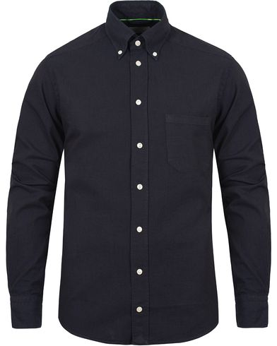 Eton Slim Fit Shirt Green Ribbon Denim Dark Blue i gruppen Skjortor / Casual Skjortor hos Care of Carl (11274111r)