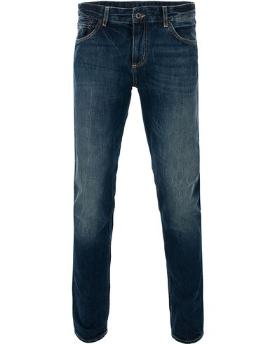 GANT Rugger Stick Boy Medium Indigo i gruppen Kläder / Jeans / Raka jeans hos Care of Carl (11277811r)