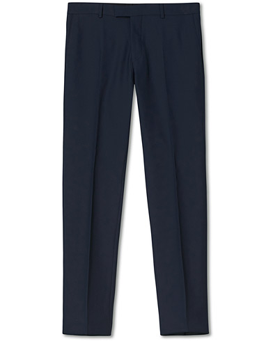 Oscar Jacobson Damien Trousers Super 120's Wool Navy i gruppen Byxor / Kostymbyxor hos Care of Carl (11279011r)