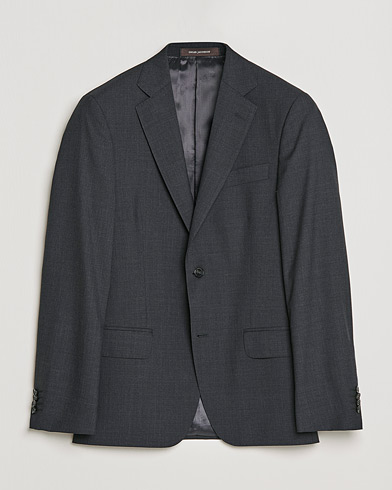 Oscar Jacobson Edmund Blazer Super 120's Wool Grey i gruppen Kläder / Kavajer hos Care of Carl (11279111r)