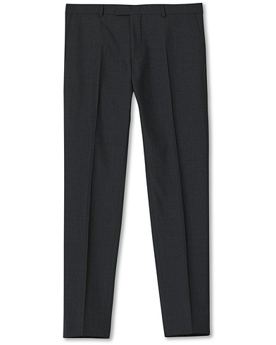Oscar Jacobson Damien Trousers Super 120's Wool Grey i gruppen Design A / Bukser / Habitbukser hos Care of Carl (11279211r)