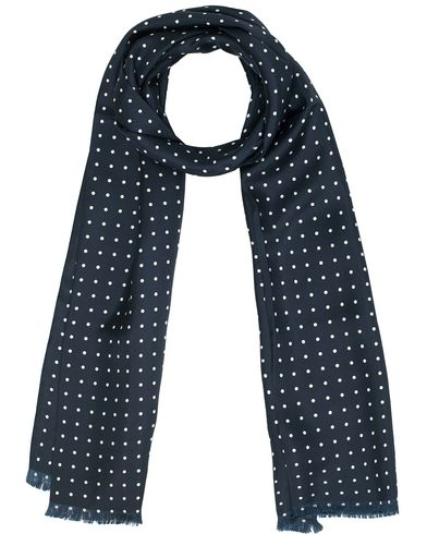 Morris Dots Scarf Navy  i gruppen Assesoarer / Scarves hos Care of Carl (11286910)