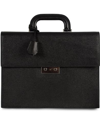 Bally Navado Briefcase Black  i gruppen Assesoarer / Vesker / Dokumentvesker hos Care of Carl (11405010)