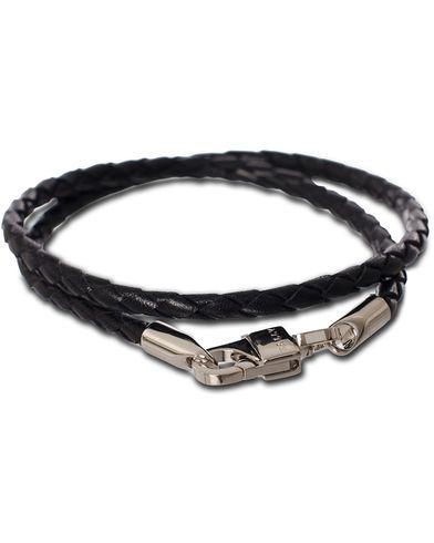 Bally Stabbio.SA Bracelet Black  i gruppen Assesoarer / Armbånd hos Care of Carl (11405410)