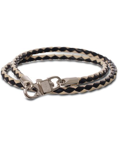 Bally Stabbio.SA.B Barcelet Two Colour Black/White  i gruppen Tilbehør / Armbånd hos Care of Carl (11405610)