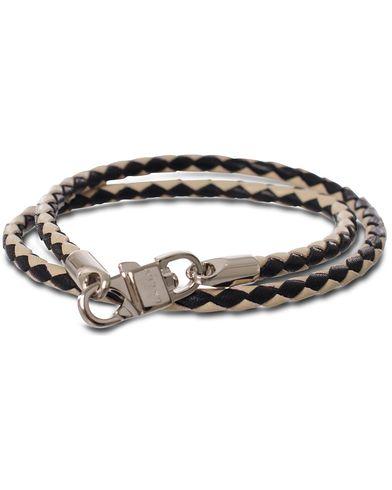 Bally Stabbio.SA.B Barcelet Two Colour Black/White  i gruppen Accessoarer / Armband hos Care of Carl (11405610)