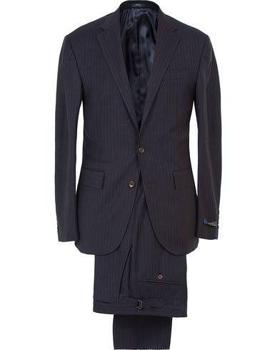 Polo Ralph Lauren Clothing Suit Pinstripe Navy Cream i gruppen Dresser hos Care of Carl (11410911r)