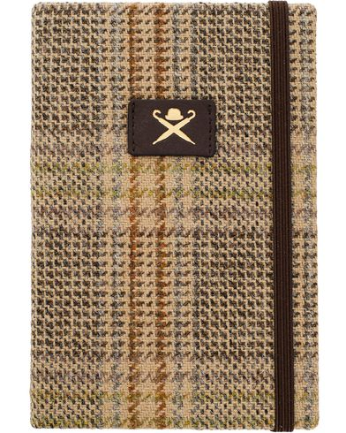 Hackett Tweed Notebook Tan  i gruppen Assesoarer / Livsstil / Penner og notatbøker hos Care of Carl (11428210)