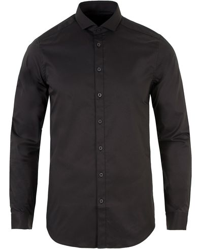 Tiger of Sweden Steel 1 Shirt Black i gruppen Skjorter / Formelle skjorter hos Care of Carl (11435811r)