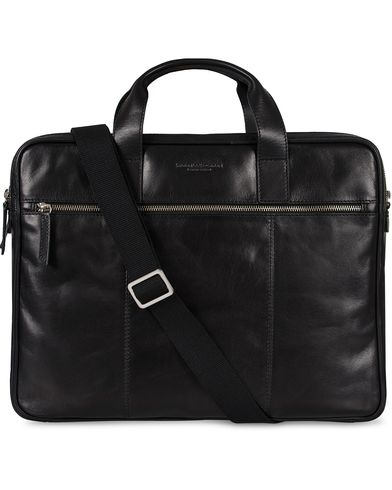Tiger of Sweden Evano Computer Bag Black  i gruppen Tilbehør / Tasker / Computertasker hos Care of Carl (11437810)
