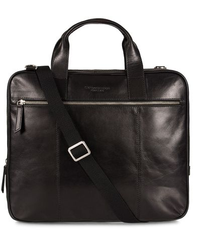 Tiger of Sweden Emil Briefcase Black  i gruppen Tasker / Mappetasker hos Care of Carl (11438010)