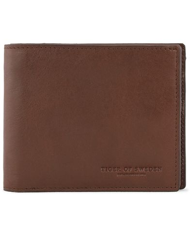 Tiger of Sweden Egil 2 Wallet Brown  i gruppen Assesoarer / Lommebøker / Vanlige lommebøker hos Care of Carl (11438710)