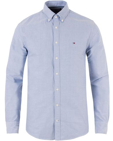Tommy Hilfiger Ivy Oxford New York Fit Shirt Blue i gruppen Skjortor / Oxfordskjortor hos Care of Carl (11443211r)