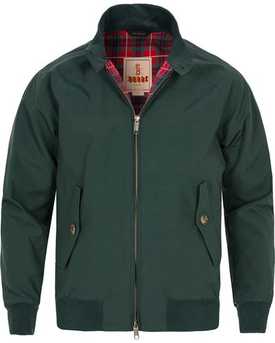 Baracuta G9 Original Harrington Jacket Racing Green i gruppen Jakker / Tynde jakker hos Care of Carl (11449011r)