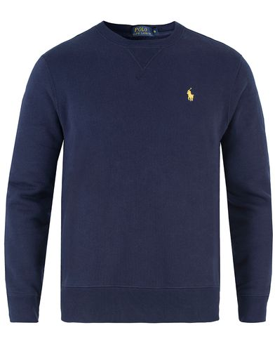 Polo Ralph Lauren Crew Neck Sweatshirt Navy i gruppen Klær / Gensere / Sweatshirts hos Care of Carl (11483511r)