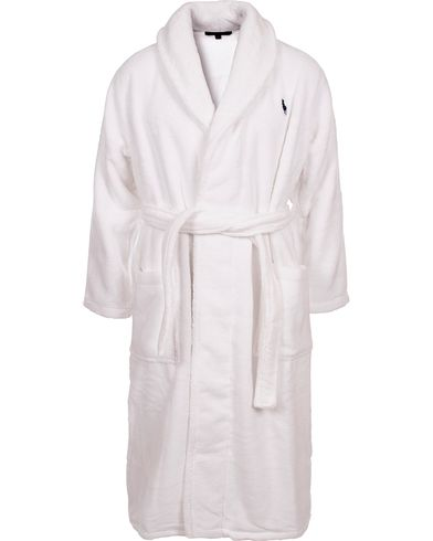 Polo Ralph Lauren Shawl Robe White i gruppen Undertøj / Morgenkåber hos Care of Carl (11489811r)