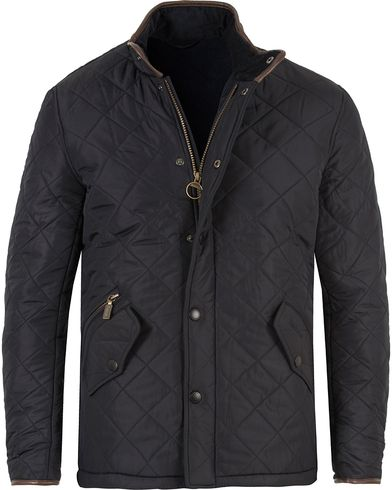 Barbour Lifestyle Powell Quilted Jacket Navy i gruppen Jackor / Quiltade jackor hos Care of Carl (11499511r)