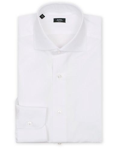 Barba Napoli Slim Fit Shirt White i gruppen Skjorter / Formelle skjorter hos Care of Carl (11511411r)