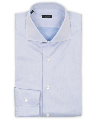 Barba Napoli Slim Fit Shirt Light Blue i gruppen Tøj / Skjorter / Formelle skjorter hos Care of Carl (11511511r)