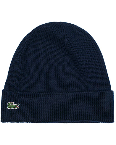 Lacoste Knitted Cap Marine  i gruppen Accessoarer / M�ssor hos Care of Carl (11536410)