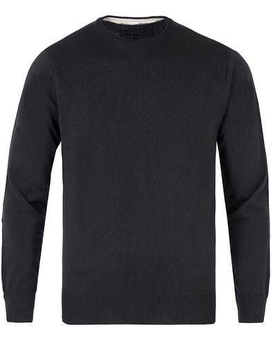 Stenströms Merino Crew Neck Pullover Black i gruppen Design A / Tröjor / Pullovers / Rundhalsade pullovers hos Care of Carl (11558211r)