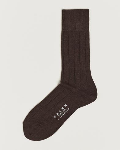 Falke Lhasa Cashmere Socks Brown i gruppen Underkläder / Strumpor / Vanliga strumpor hos Care of Carl (11575711r)