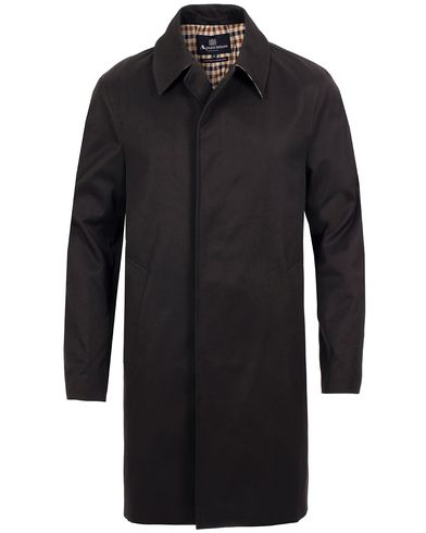 Aquascutum Broadgate Raincoat Black i gruppen Jakker / Frakker hos Care of Carl (11577211r)