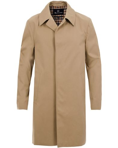 Aquascutum Broadgate Raincoat Camel i gruppen Tøj / Jakker / Frakker hos Care of Carl (11577311r)