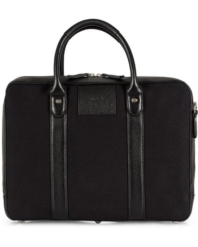 Baron Computer Tote Black Canvas  i gruppen Tasker / Mappetasker hos Care of Carl (11579910)