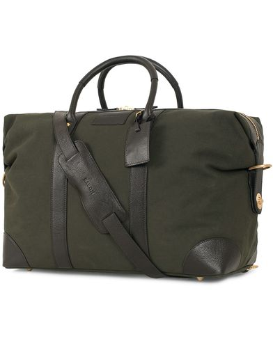 Baron Weekendbag Green Canvas  i gruppen Vesker / Weekendbager hos Care of Carl (11580310)