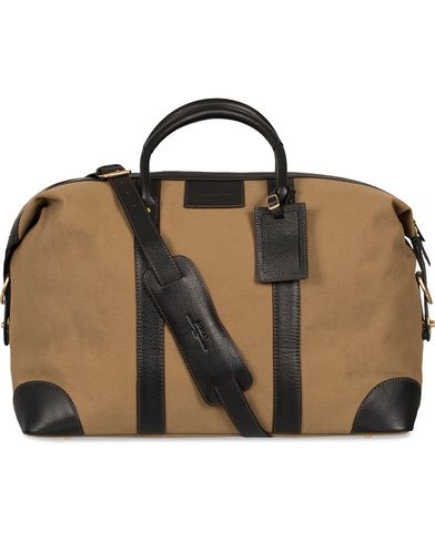 Baron Weekendbag Khaki Canvas  i gruppen Assesoarer / Vesker / Weekendbager hos Care of Carl (11580510)